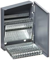 Chicago Latrobe Drill Bit Case, 60 Bit Capacity, for Wire Gauge Sizes #60 - #1