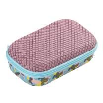ZIPIT Mesh Pencil Box/Storage Box, Camo Pink (MEB-9)