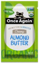 Once Again Organic Almond Butter, Original, 10 Count