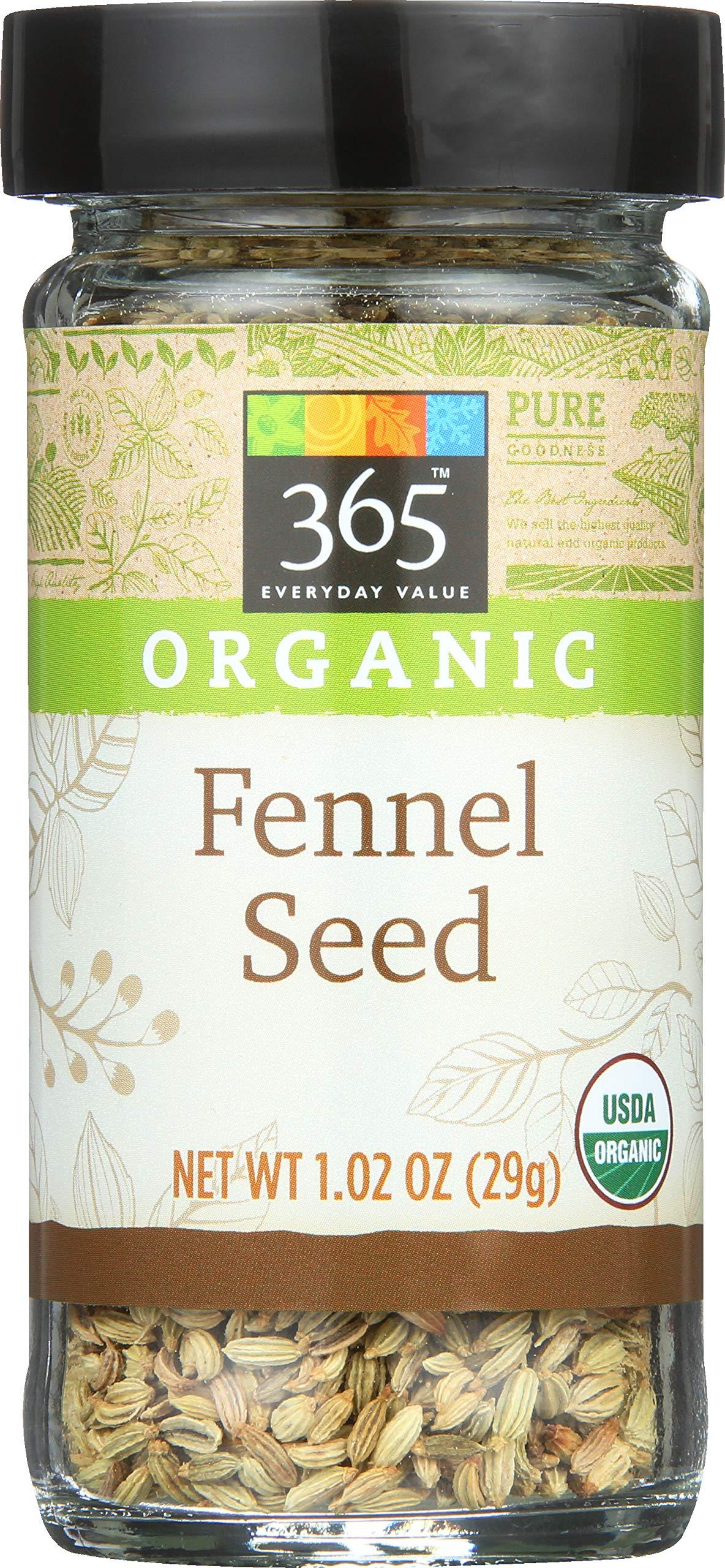 365 Everyday Value, Organic Fennel Seed, 1.02 oz