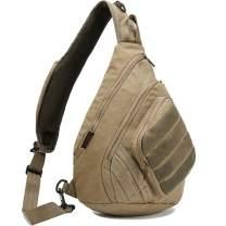 Canvas Sling Bag Chest Shoulder Backpack Crossbody Bags for Laptop Travel Outdoor Daypacks Men