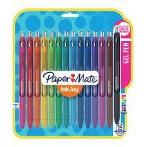 Papermate Inkjoy Gel Pens, Fine Point (0.5mm), Assorted Colors Gel Ink Rollerball Pen (1988991)
