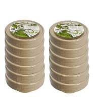 Natural Compostable Plant Fiber 11.5 oz Natural Bowl 50 Count Earths Natural Alternative Eco-Friendly