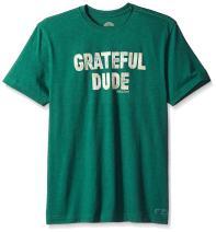 Life is Good Men's Crusher Tee Grateful Dude Htfrgr T-Shirt,