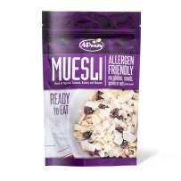 AiPeazy Muesli- Aip Diet, Vegan and Paleo - Allergen Friendly - Ready to Eat - Gluten Free, Seed Free, Grain Free - Aip food - Blend of Tigernut, Coconut, Organic Raisins, Banana - Single Bag 10.1oz