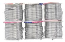 Mandala Crafts Anodized Aluminum Wire for Sculpting, Armature, Jewelry Making, Gem Metal Wrap, Garden, Colored and Soft, Assorted 6 Rolls (16 Gauge, Combo 1)
