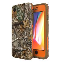 Lifeproof FRĒ SERIES Waterproof Case for iPhone 8 & 7 (ONLY) - Retail Packaging - (BLAZE ORANGE/DARK FLAT EARTH/RT EDGE)