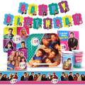 Beverly Hills 90210 Party Supplies (Standard Pack), 90's Party Decorations and Supplies, 90s Birthday Party Pack