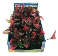 Foregrounder Aqua-Scaping - Bunch Plants - Create a Lush Aquatic Landscape Instantly with a Box of Five 4 3/4'' Long x 1 5/8'' Wide Plants