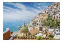 Beautiful Positano, Amalfi Coast in Campania, Italy 9023742 (Premium 1000 Piece Jigsaw Puzzle for Adults, 20x30, Made in USA!)