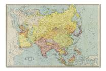 Asia - Panoramic Map (Premium 1000 Piece Jigsaw Puzzle for Adults, 20x30, Made in USA!)