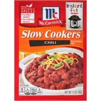 McCormick Slow Cookers Chili Seasoning Mix, 1.5 oz (Pack of 12)