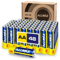 ALLMAX All-Powerful Alkaline Batteries - AA (48-Pack) - Premium Grade, Ultra Long-Lasting and Leak Proof with EnergyCircle Technology (1.5 Volt)