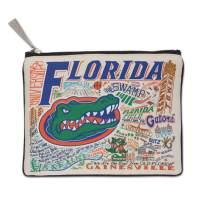 Catstudio University of Florida Collegiate Zipper Pouch & Coin Purse | Holds Your Phone, Pencils, Makeup, Dog Treats, Tech Tools | Great for Travel, Women, Men, Girls, Boys
