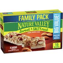 Nature Valley Granola Bars, Sweet and Salty Nut, Almond Granola Bars, 15 Bars