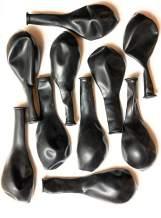 Storus SuperHorn Replacement Membranes for Loudest Breath Powered Horn Noise Maker Latex Rubber Balloons | Black 10 pcs