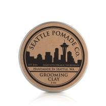 Seattle Pomade Co. Certified Organic Grooming Hair Clay