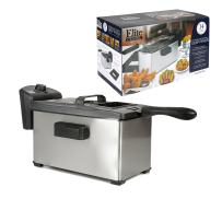 Elite Cuisine EDF-3507 Maxi-Matic 3.5 Quart Immersion Deep Fryer, Stainless Steel