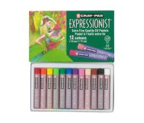 Sakura XLP12 12-Piece Cray-Pas Expressionist Assorted Color Oil Pastel Set