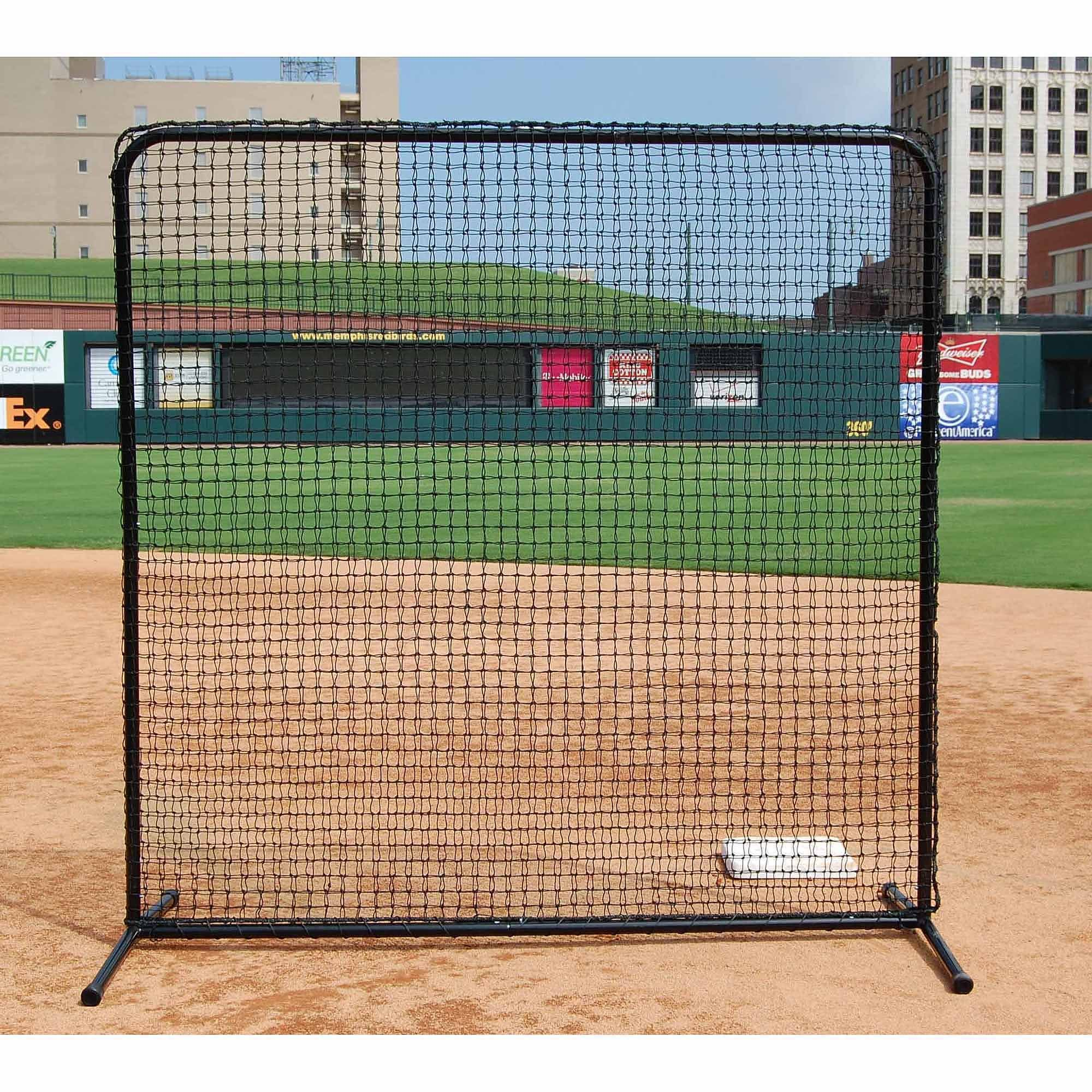 Trigon Sports ProCage Black Series Fungo Screen, 7 x 7-Feet