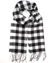 MIRMARU Winter Scarf Premium Cashmere Feel Classic Oblong Scarves –Lightweight and Various Styles