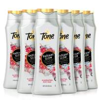 Tone Body Wash, Radiant Glow, 18 Ounce (Pack of 6)