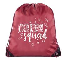 Cheer Bags, Pom Pom and Cheerleader drawstring Backpacks, Cheerleader Team bags