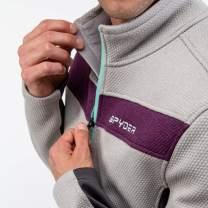 Spyder Men's Encore Fleece Jacket – Male Half Zip Pullover Outdoor Apparel