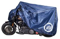 Premium Weather Resistant Motorbike Cover. Waterproof High Grade Polyester w/Soft Screen, Heat Resistant Shield. Lockable fabric, Durable & Long Lasting.Fits Sport bike, Cruiser, Touring (xxl, navy)