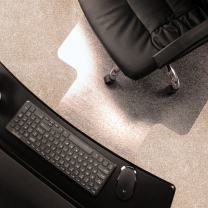 "Marvelux Enhanced Polymer Eco-Friendly Office Chair Mat with Lip for Low and Standard Pile Carpeted Floors | 36"" x 48"" 