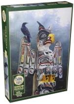 Cobblehill 80085 1000 pc Totem Pole in The Mist Puzzle, Various