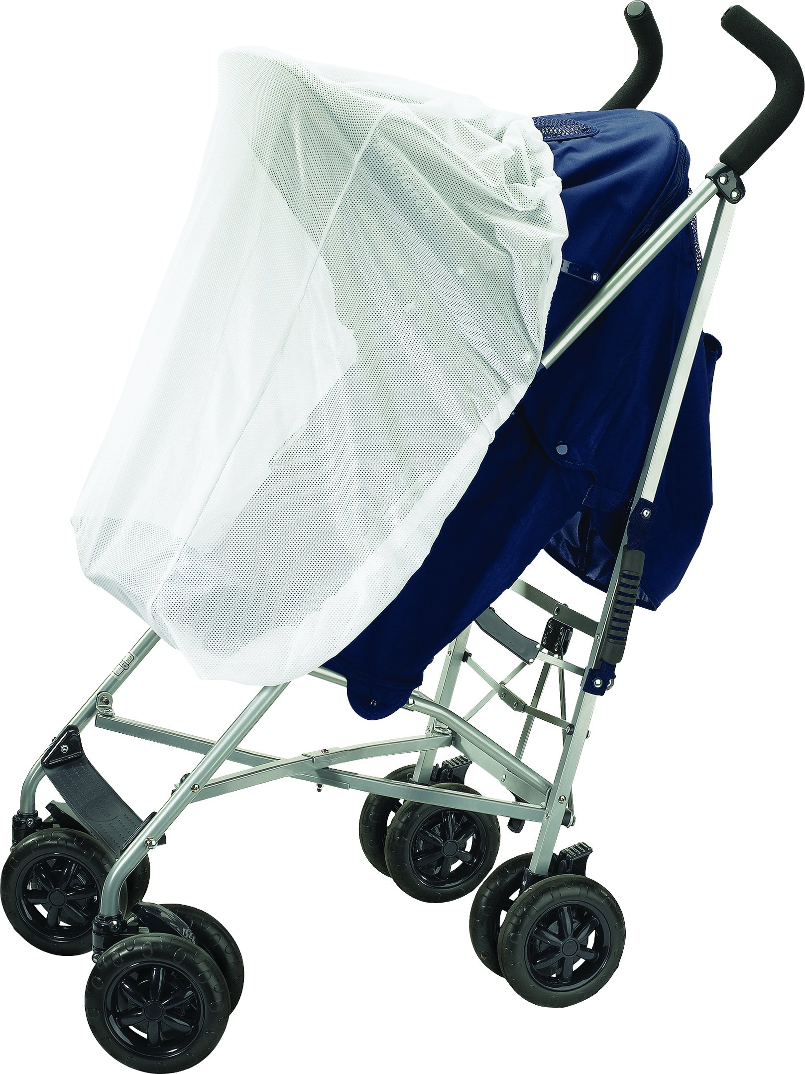 Diono Stroller Sun Net, for Strollers, Car Seats and Baby Carriers, White