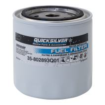 Quicksilver 802893Q4 Water Separating Fuel Filter - Mercury and Mariner Outboards and MerCruiser Stern Drive and Inboard Engines