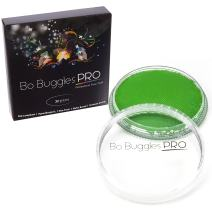 Bo Buggles Professional Light Green 32g Face Paint, Classic Colors, Water Activated