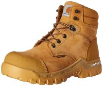 "Carhartt Men's 6"" Rugged Flex Waterproof Breathable Composite Toe Leather Work Boot"