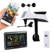 La Crosse Technology V40-PRO-INT Color Wireless Wi-Fi Professional Weather Station, Gray