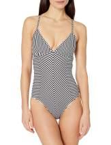 Splendid Women's Crisscross One Piece Swimsuit