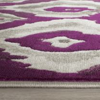 """Safavieh Porcello Collection PRL7736B Ivory and Purple Area Rug (8'2"""" x 11')"""