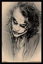 Trends International Wall Poster the Dark Knight Sketch, 22.375 x 34