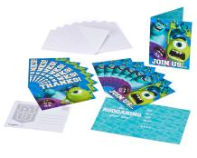 American Greetings Monsters University Party Supplies, Invitation and Thank You Card Bundle (8-Count)