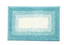 "Tennove Non-Slip Bath Rug Soft Microfiber Shag Bathroom Shower Mat, Extra Absorbent and Comfortable, Machine Washable Bathroom mats, Perfect for Doormats Tub Shower, 16""x 24"", Green"