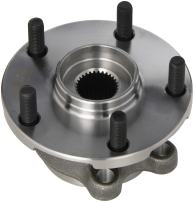 WJB WA513258 - Front Wheel Hub Bearing Assembly - Cross Reference: Timken HA590168 / Moog 513258 / SKF BR930614