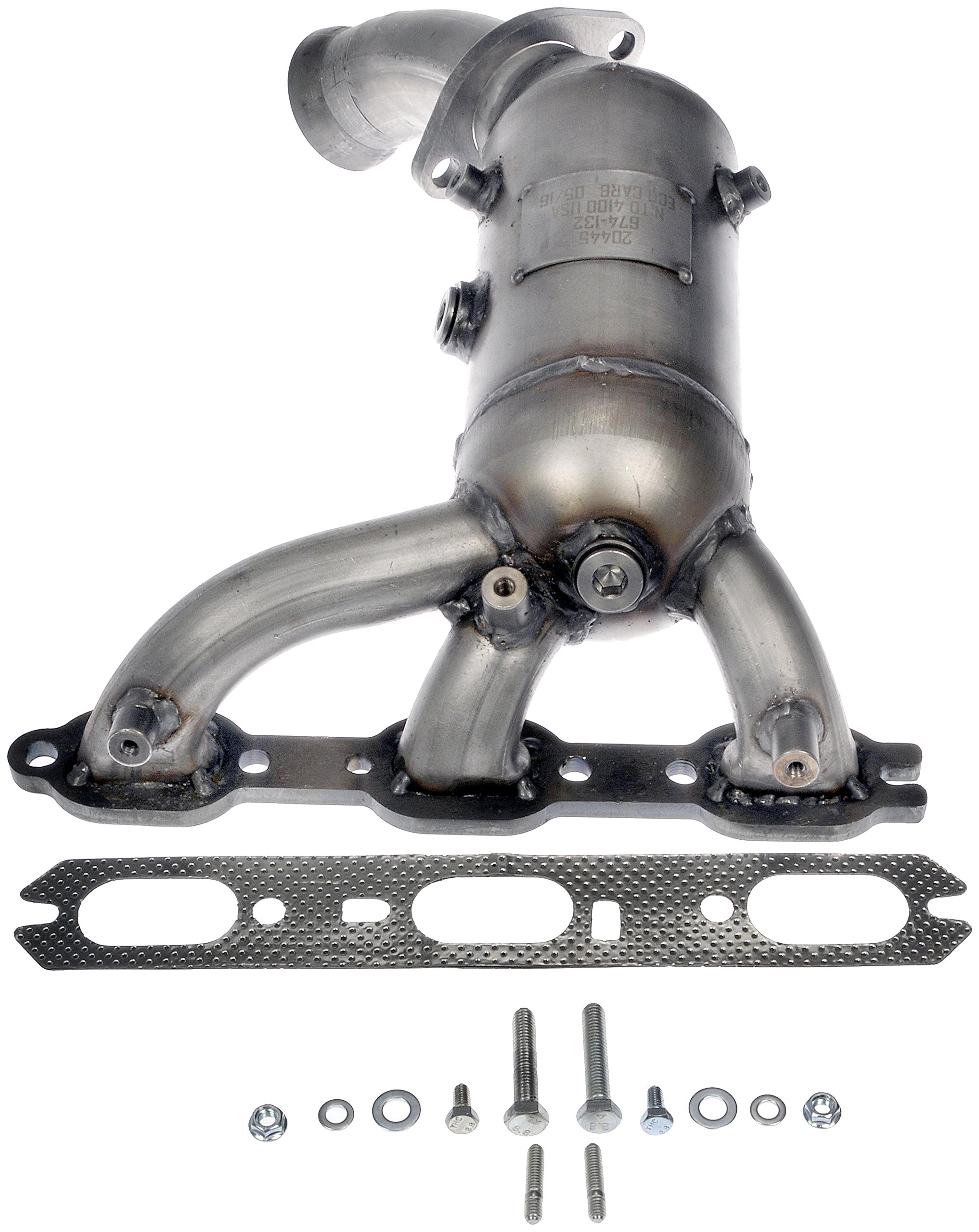 Dorman 674-132 Front Catalytic Converter with Integrated Exhaust Manifold for Select Chrysler / Dodge / Volkswagen Models (Non CARB Compliant)