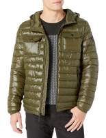 Kenneth Cole New York mens Hooded Down Alternative Jacket