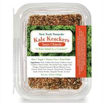 New York Naturals Kale Krackers, Sweet Chipotle, Vegan, Gluten-Free, Grain-Free, Paleo and Keto Friendly, Low Carb (1 pack)