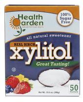 Health Garden Birch Xylitol Sweetener - Non GMO - Kosher - Made in the U.S.A. - Keto Friendly (50 Packets)