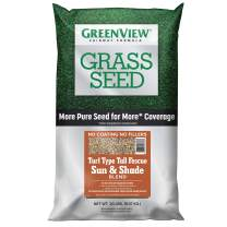 GreenView 2829348 Fairway Formula Grass Seed Turf Type Tall Fescue Sun & Shade Blend, 20 lb