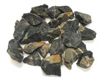 """Zentron Crystal Collection: Rough Black Onyx - Large 1""""+ Pieces Raw (1 Pound)"""