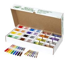 Crayola Bulk Markers and Crayons, 256 Count Classpack