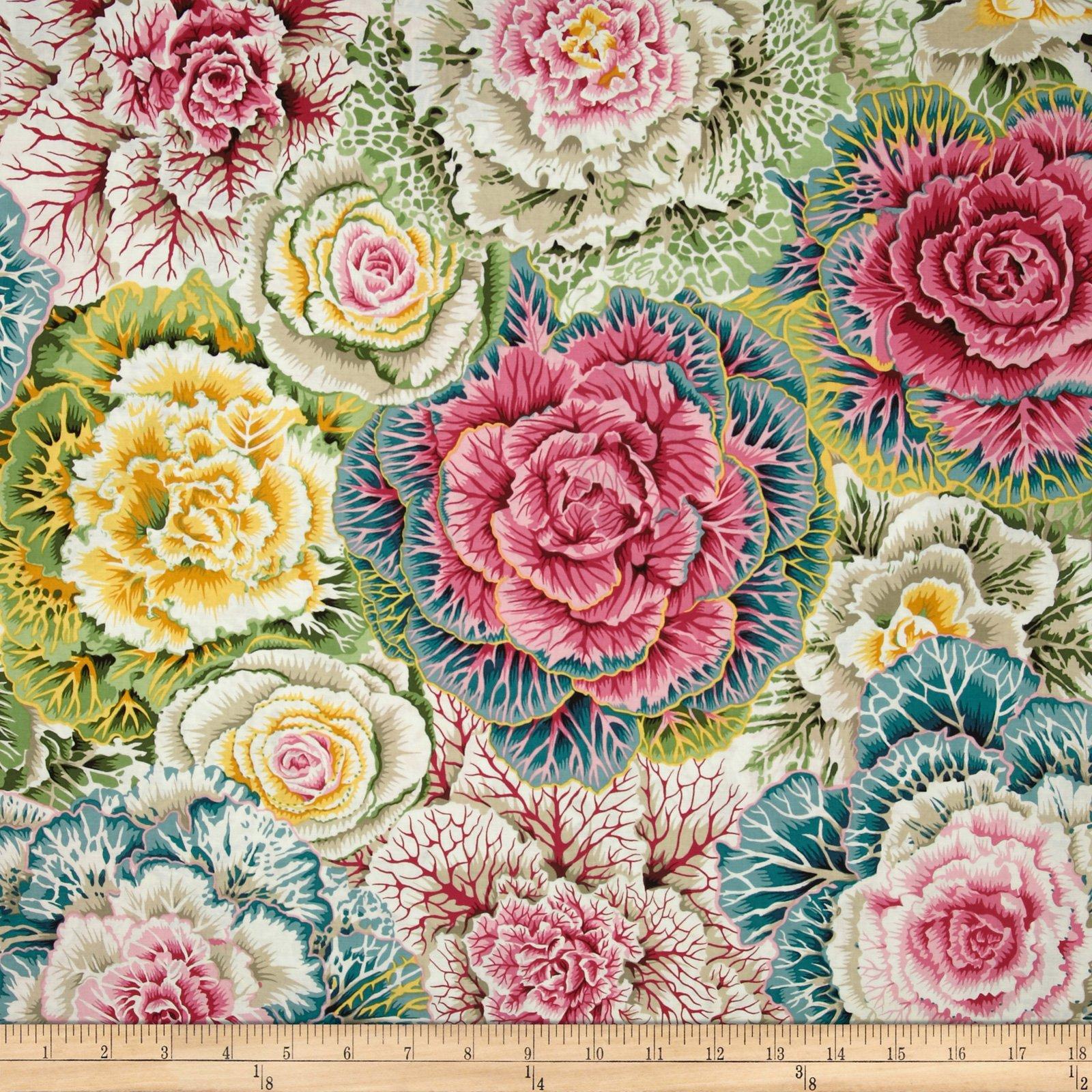 FreeSpirit Fabrics Kaffe Fassett Collective Brassica Pastel Fabric By The Yard